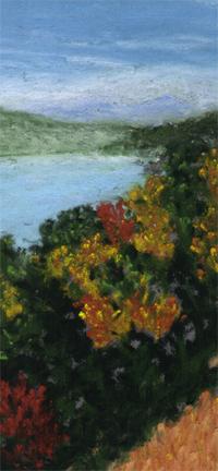 Alton Bay View - detail