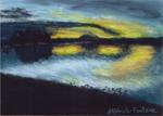 Graham Lake Sunset - Print