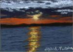 Maine Summer Sunset