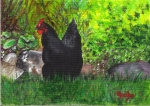 Astralorp Hen Posed